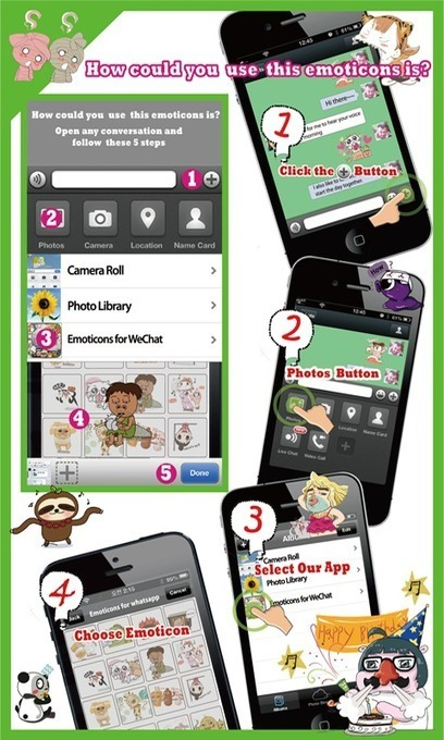 Emoticons for WeChat v1.2 | ApkLife-Android Apps Games Themes | Nothing..! | Scoop.it