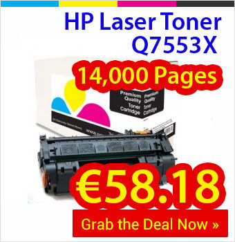 Megapack Deal of HP Q7553X Laser Toners at Prices as Low as €58.18 | Find the Best Value Ink and Toner Cartridges with Multipack Deals in Ireland | Scoop.it
