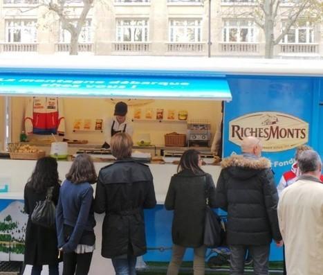 Le foodtruck Richesmonts en tournée pour tous les fondus de raclette   streetmarketing   Scoop.it