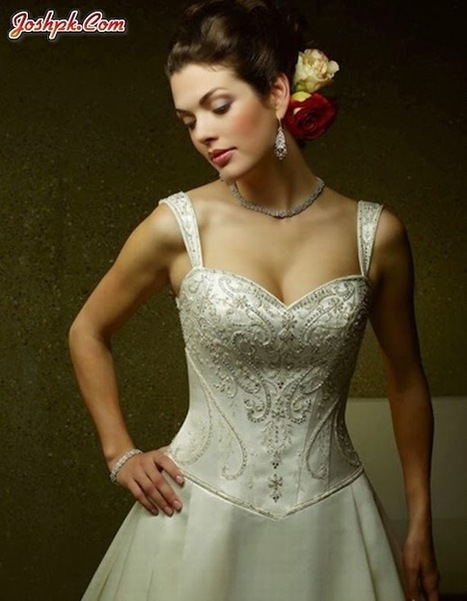 Sophisticated Empire Waist New Elegant Dresses Collection 2014 For Girls   joshpk   Scoop.it