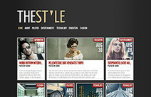TheStyle Blogger Template | Web Design And Blogging | Scoop.it
