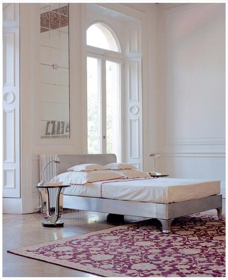 Arredamento moderno e tappeti persiani un abbi - Tappeti camera da letto ...