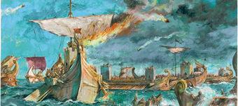 La ¿decisiva? batalla de Actium   LVDVS CHIRONIS 3.0   Scoop.it