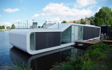 Donner mille visages aux rivages : l'architecture flottante. | IMMOBILIER 2014 | Scoop.it