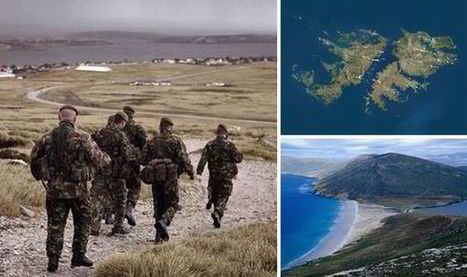 EXCLUSIVE: UK Forces test Falklands defences amid fears Argentina are on ... - Express.co.uk | Syrian  and Turkey | Scoop.it