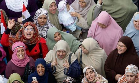Arab women protesters – not free, just figureheads | Coveting Freedom | Scoop.it