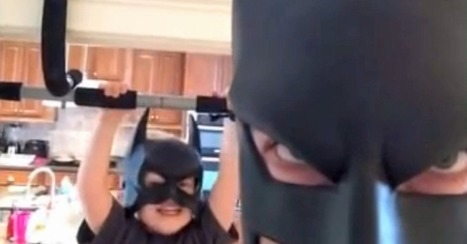 Family and Fun Always Comes First for BatDad [VIDEO]   The World Wide Web   Scoop.it