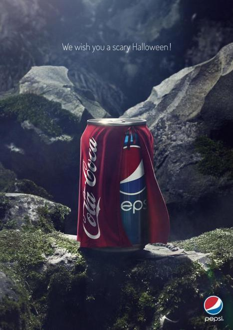 Quand Pepsi et Coca-Cola célèbrent Halloween... | buzzzzmaker | Scoop.it