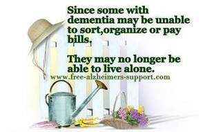 With Alzheimer's, Some Can Not Organize - Clothes, Money, Bills - Alzheimers Support | Caregiving | Scoop.it