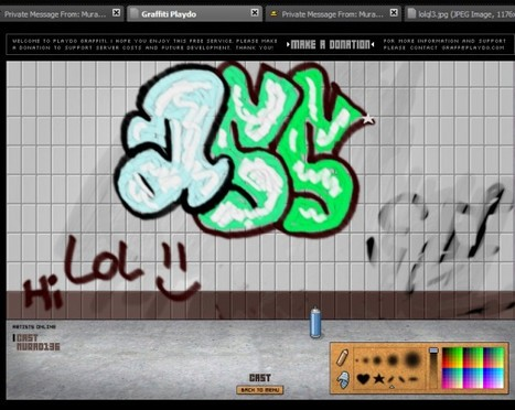 Graffiti - Graffiti tekeningen maken online | heeii | Scoop.it