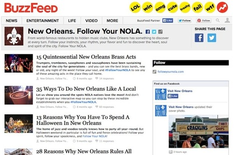 What Travel Marketers Can Learn From New Orleans' Move to Digital Marketing | Strengthening Brand America | Scoop.it