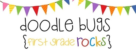 Doodle Bugs Teaching {first grade rocks!}: Five for Friday {linky party ... | First Grade Math | Scoop.it