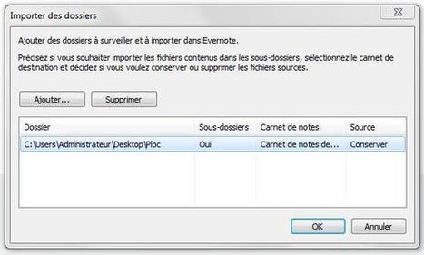 Synchroniser un dossier dans Evernote | Time to Learn | Scoop.it