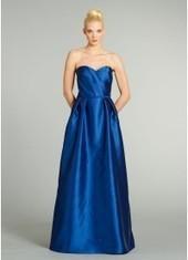 Sheath Column Sweetheart Floor Length Bridesmaid Dress Bbjh0199 for $370   Bellafuny   Scoop.it