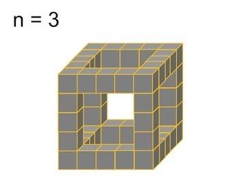 MEDIAN Don Steward secondary maths teaching: hollow cube   Great Maths Teaching Ideas   Scoop.it