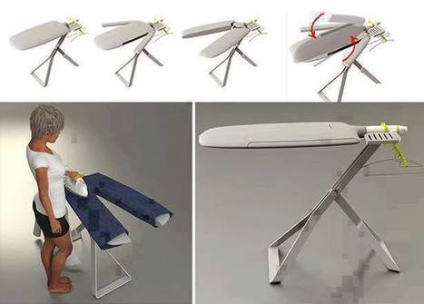 15 Creative Ironing Board Designs « DIY Cozy Home | Ironing | Scoop.it