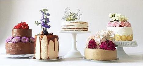 These Rococo-Inspired Floral Cakes Are Edible Works of Art | Candy Buffet Weddings, Events, Food Station Buffets and Tea Parties | Scoop.it