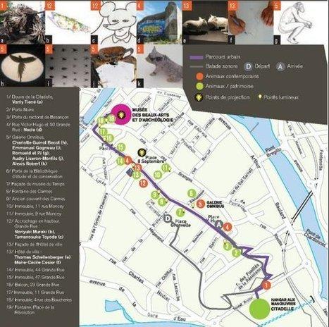 Besançon : Les bêtes envahissent la ville | Revue de Web par ClC | Scoop.it