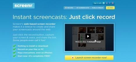 6 herramientas para hacer screencasts - Neoteo | e-learning y herramientas 2.0 | Scoop.it