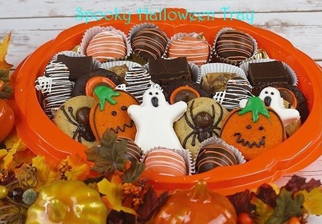 Spooky Halloween Tray | Halloween Gift Basket| Ingallina's Box Lunch Seattle | Box lunch | Scoop.it