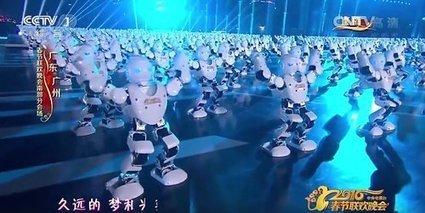 540 robots dansent ensemble pour fêter le nouvel an chinois | Une nouvelle civilisation de Robots | Scoop.it