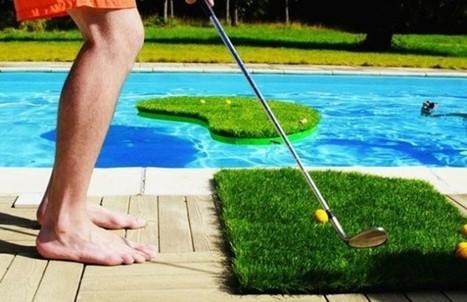 Swimming Golf : un concept original pour jouer au golf dans sa piscine   Trollface , meme et humour 2.0   Scoop.it