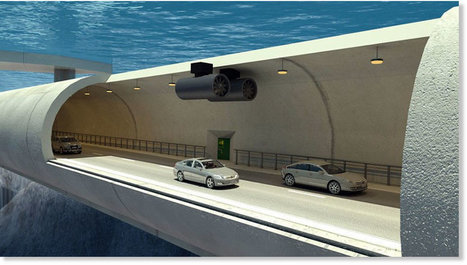 Norway to build world's first ever floating tunnel underwater -- Sott.net | ZenStorming - Design Raining Innovation | Scoop.it