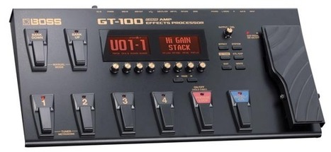 NAMM 2012 : BOSS Introduces the New GT-100 Amp Effects Processor | Guitar News from NAMM 2012 | Scoop.it