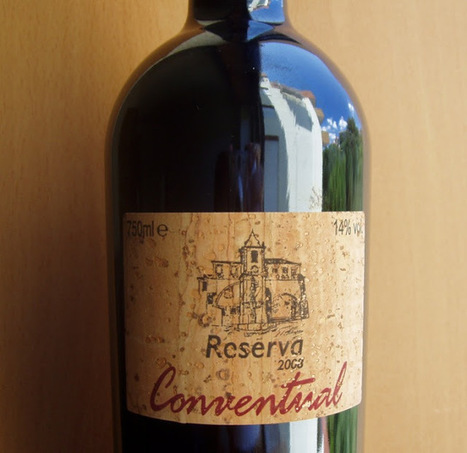 O Puto Bebe: Conventual — Reserva '2008 | Wine Lovers | Scoop.it