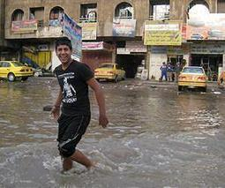 Four dead as heavy rains flood Iraq capital | Sustain Our Earth | Scoop.it