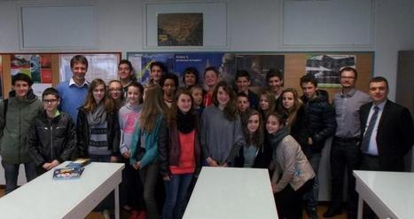 Rodez. «L'espace, c'est la classe» avec un ingénieur du CNES | Collège Jean Moulin | Scoop.it