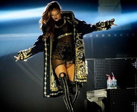 Rhymes with Snitch | Entertainment News | Celebrity Gossip: Rihanna Ranks No.1 in Touring Revenue | GetAtMe | Scoop.it