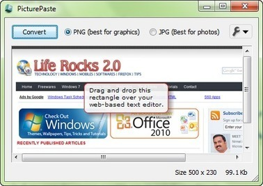 Drag and Drop (Copy Paste) Images to WordPress, Gmail, Blogger, Zoho, Yahoo Mail, Hotmail with PicturePaste | Entrepreneurs du Web | Scoop.it