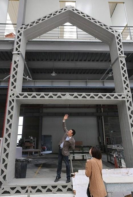 Des maisons de 200m2 imprimées en 3D pour 3 500€ ! | Recyclage et récupération | Scoop.it