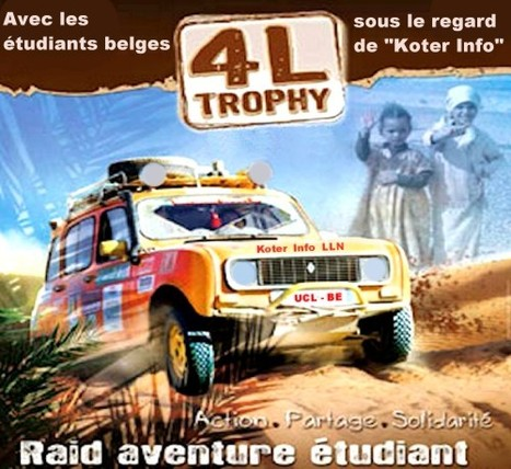 En collaboration avec Koter Info, le site des étudiants de LLN - WSL | Koter Info LLN - La Gazette du Raid 4L Trophy | Scoop.it