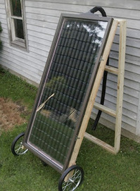How to Build a Solar Heating Panel with Soda Cans | Personal Power | Scoop.it