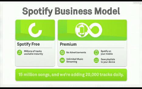'Lighting up' digital music: Spotify Platform announcement   Music business   Scoop.it