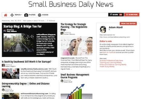 March 6, 2013: Small Business Daily News is out | Business Futures | Scoop.it