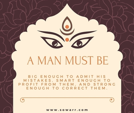 a man must be quotes | Free Arabic Quotes | Scoop.it