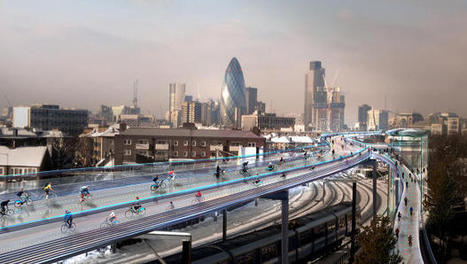 London's Car-Free Highway Could Transport Bikes, Boxes, And Energy | Människan, maten & miljön | Scoop.it