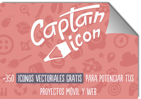Captain Icon, una colección de 375 iconos vectoriales gratuitos   El rincón de mferna   Scoop.it