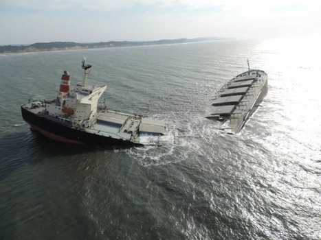 MV Smart Grounding: Owners Rule Out Mechanical Failure… Before Ship Hit Bottom | gCaptain ⚓ Maritime & Offshore News | Oil Spill | Scoop.it