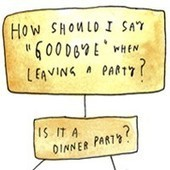 When you leave a party, should you say good-bye? | Digital-News on Scoop.it today | Scoop.it