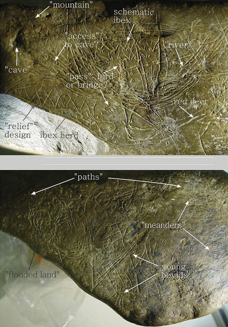 El Museo de Navarra realiza una réplica de la pieza paleolítica 'Mapa de Abauntz' y la presta al Museo Oteiza | Arqueología, Historia Antigua y Medieval - Archeology, Ancient and Medieval History byTerrae Antiqvae | Scoop.it