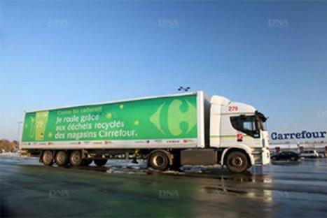 Carrefour va faire rouler des camions de livraisons au biométhane | Pierre-André Fontaine | Scoop.it