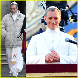 Jude Law Transforms Into 'The Young Pope' | Le cinéma, d'où qu'il soit. | Scoop.it