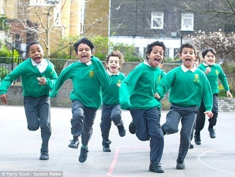 Primary school where the children are made to run a mile every day | Living-in-London Today | Scoop.it