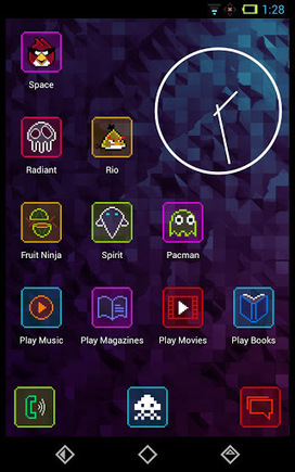 Neon Pixelz Go Nova Apex Theme v3.0 | ApkLife-Android Apps Games Themes | Gamez | Scoop.it