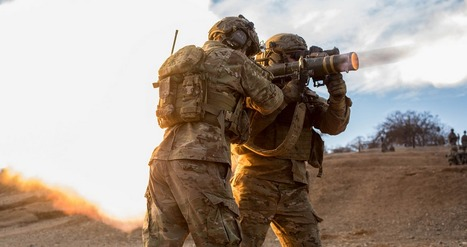 U.S. Army Rangers fire off a Carl Gustav recoilless rifle at a range on Camp Roberts, Calif.   Military Gifts   Scoop.it