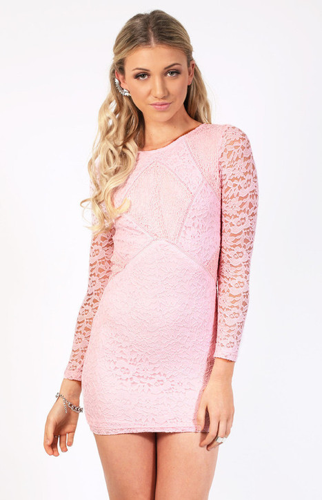 Summer clothes » Amazing pink lace dress   Summer clothes   Scoop.it